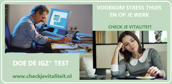 Check Je Vitaliteit TEST afbeelding VGNL VF 003